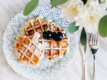 Healthy Homemade Waffles