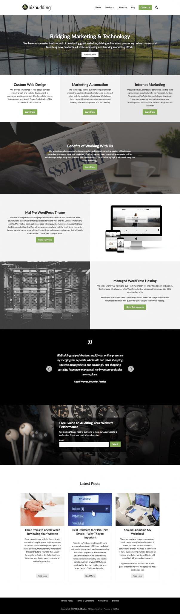 Mai Pro Features » Mai Pro WordPress Themes