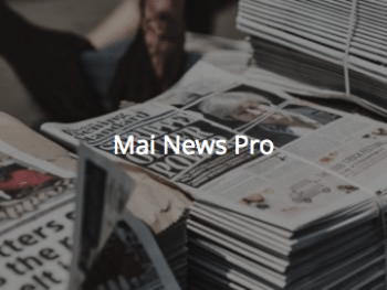 Mai News Pro demo link