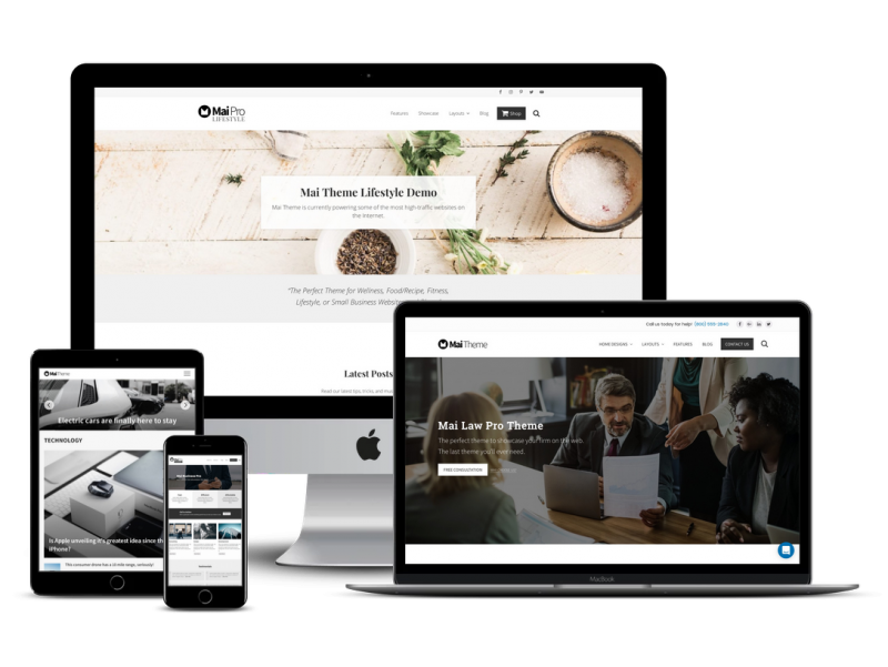 All Access (All Mai Themes Plus All Plugins) » Mai Theme for WordPress