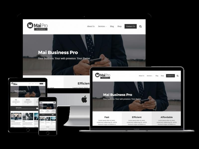 Mai Business Theme showcase image